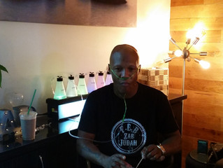 Professional Boxer Zab Judah Stops to Recover at Troy City Cryolounge!