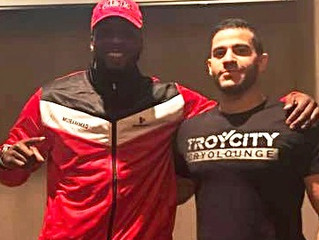 "Troy City Cryolounge takes On Professional Boxer and MMA Fighter ""The Hurricane"""