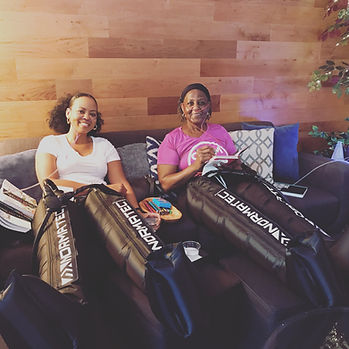 NormaTec Compressio THerapy at Troy City Cryolounge