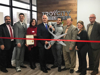 Mayor Welcomes Troy City Cryolounge to the City of Troy