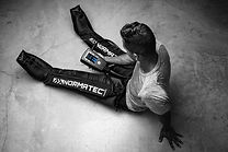 Normatec compression legs at troy city cryolounge