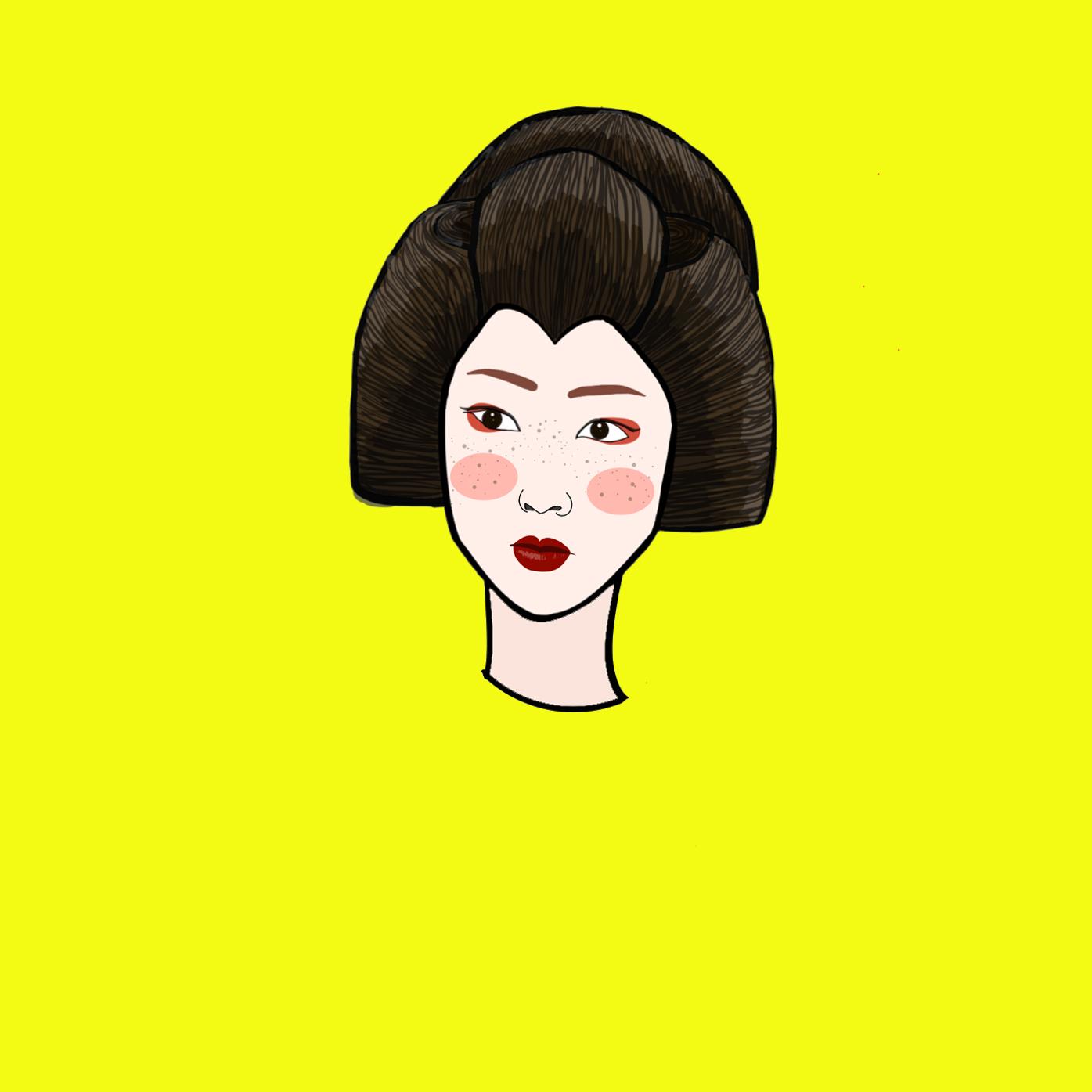 歌妓     - ADOBE INK&SLIDE -