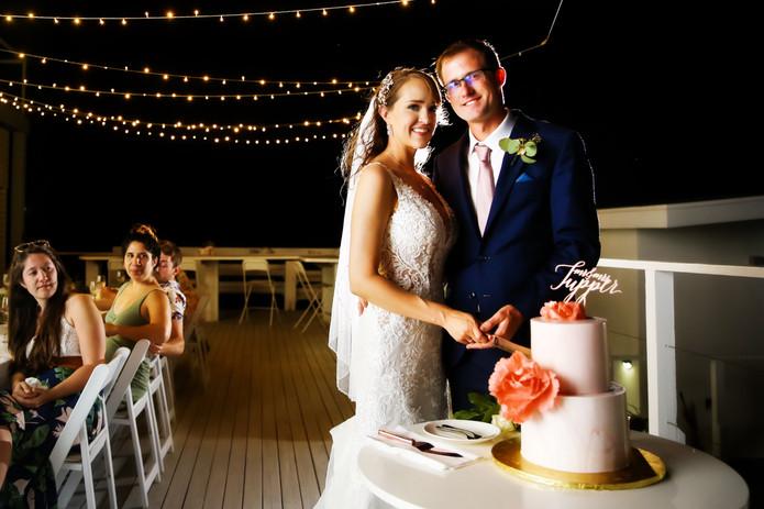 Wedding at Mika's Resort