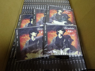Tatsu's first job and CDs finally here