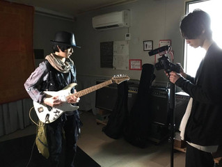 Tatsuhito Uto Music Video filming session