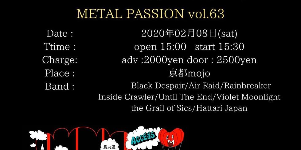 Black despair at metal passion 京都mojo