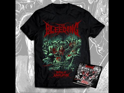 The Bleeding -CD andT-shirt bundle
