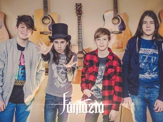 'fantazia'  romanian rising star on the future metal scene!!  ルーマニアの新星'fantazia'.