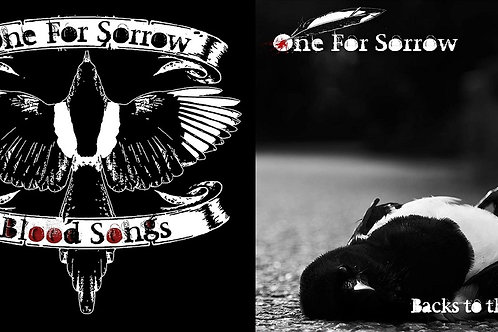 one for sorrow - blood songs & backs to the wall EP (shipping to asia only)