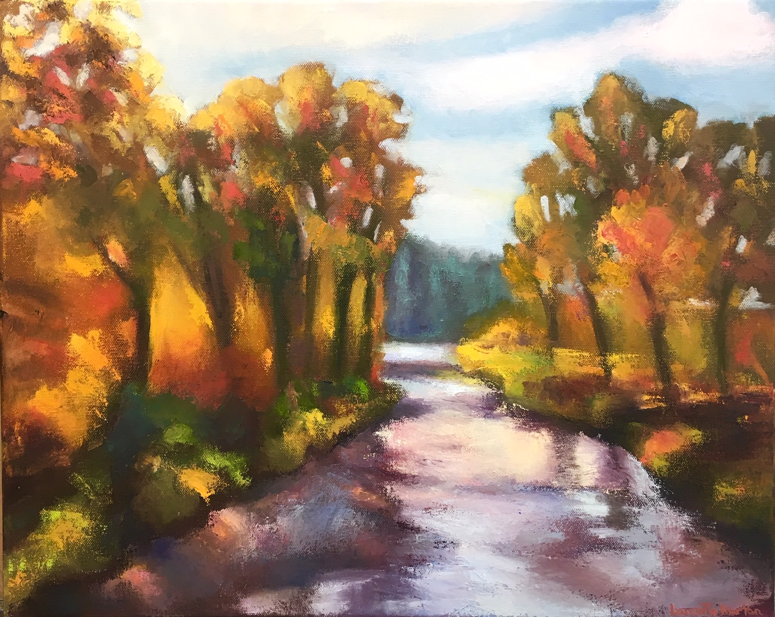 Fall in Fishcreek