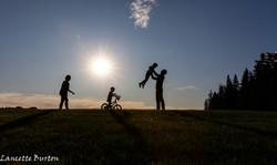 family bike silhouettte FB-1