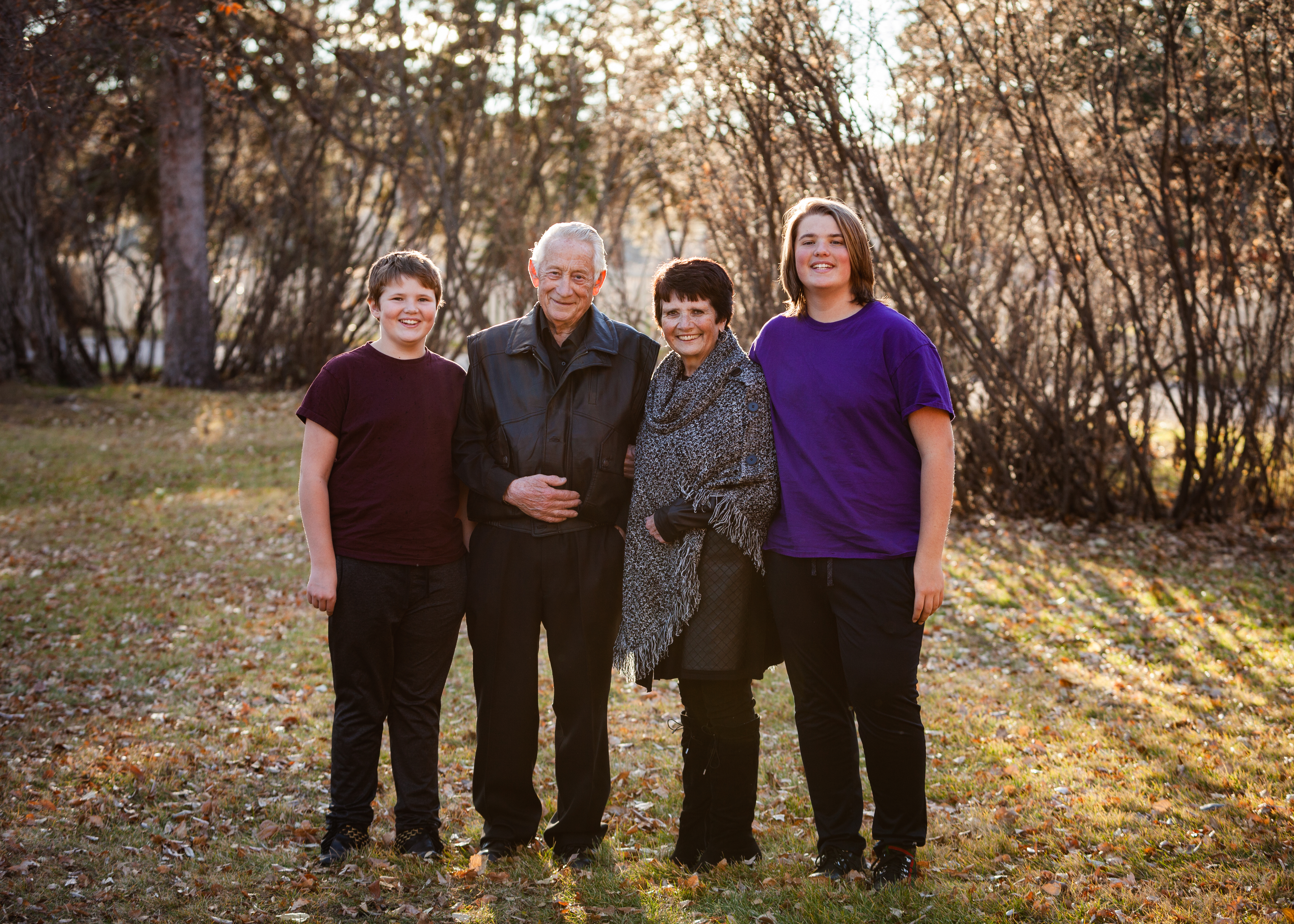 grandparents and boys (1 of 1)