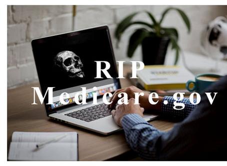 RIP Medicare.gov