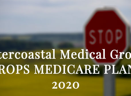 Intercoastal Medical Drops 2020 medicare plans