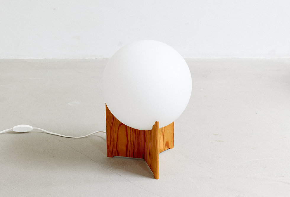 """Bolle"" side lamp by Hans-Agne Jakobsson"