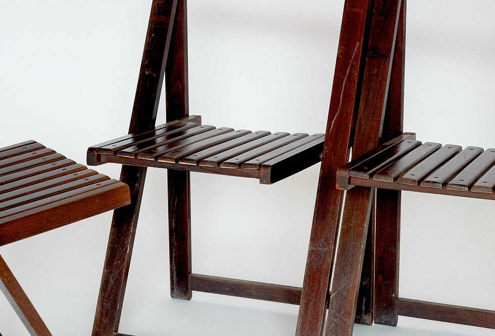 Aldo Jacober. Bazzini. Folding chair. 1966