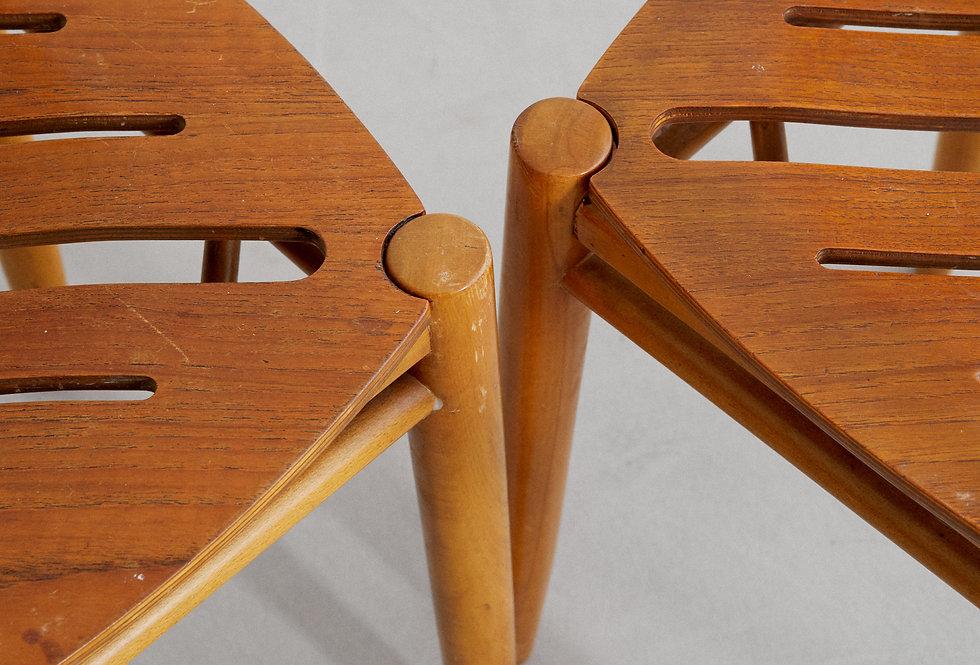 4x Gemla chair. 1950/60s