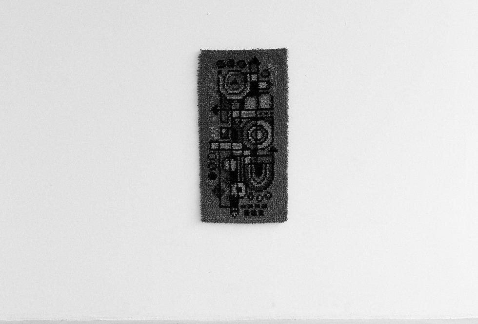 wool rya rug