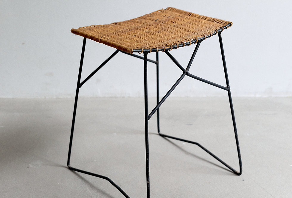 Stool in the style of Raoul Guys 1950s France
