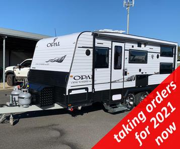 OPAL Tourer Mk1 200 Caravan with bunk beds