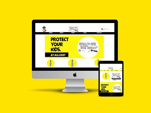 Custom Website - Shopify