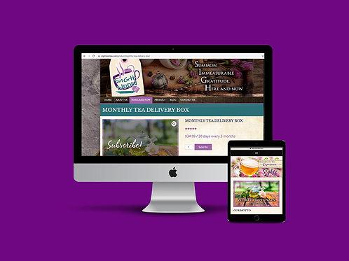 Custom Website - Square +  Wordpress