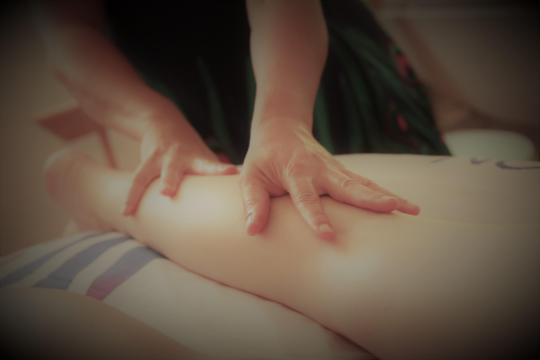 Massage régénérant/drainant