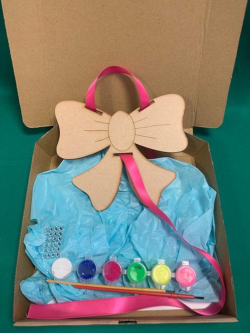 Bow holder craft set