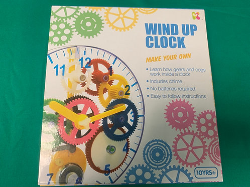 Build your own wind up clock