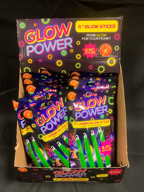 "1447 150mm (6"") Jumbo glow sticks"