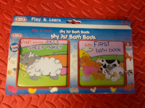 My first bath book