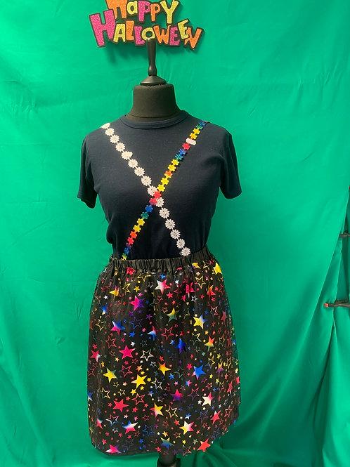 Black cosmic skirt