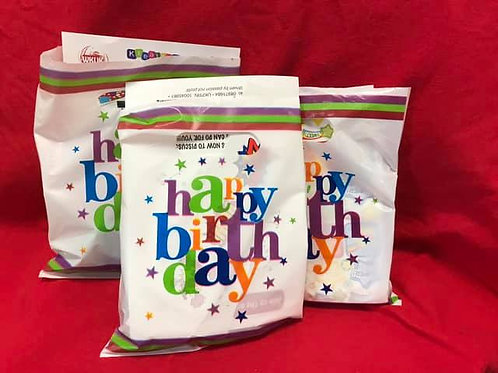 1288 Happy Birthday Party Bags