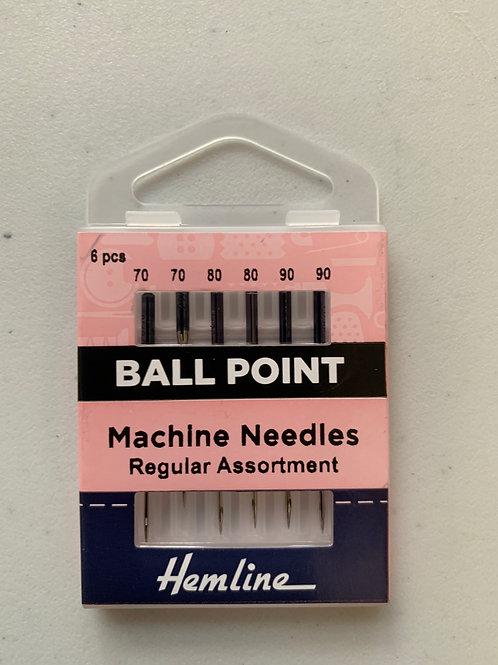 1440 Assorted Ball Point Machine Needles 70-80-90