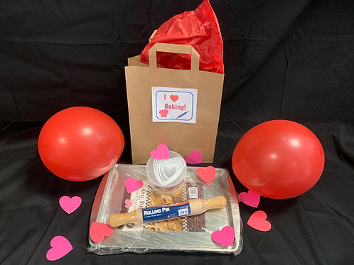 Heart Biscuits Baking Pack