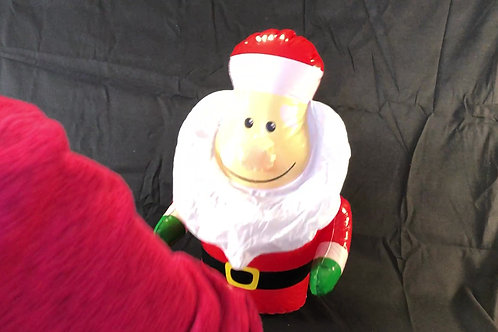 1215 Inflatable Santa Bopper