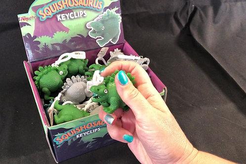 1201 Squishosaurus Dinosaur Key Clip
