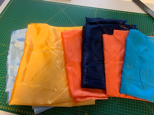 1481 Satin Multi Colours - Remnant Pack