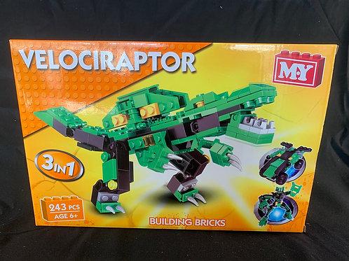 1173 Dinosaur brick set