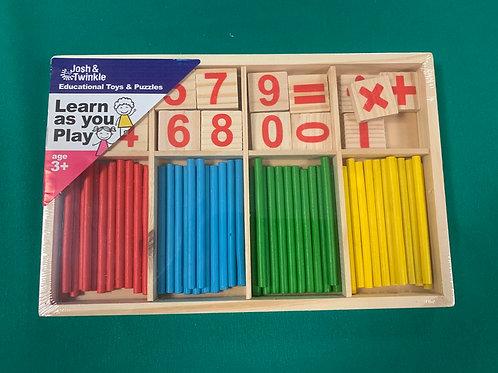 Counting sticks set
