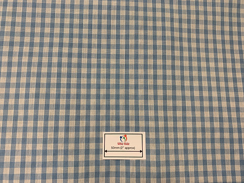 1148 Pale Blue Gingham