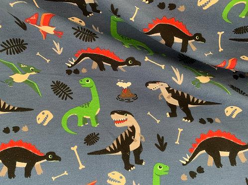 1557 Dinosaur Jersey Navy