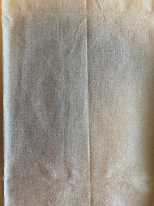 Natural look cotton fabric remnant