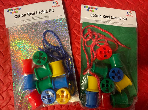 Cotton Reel lacing set