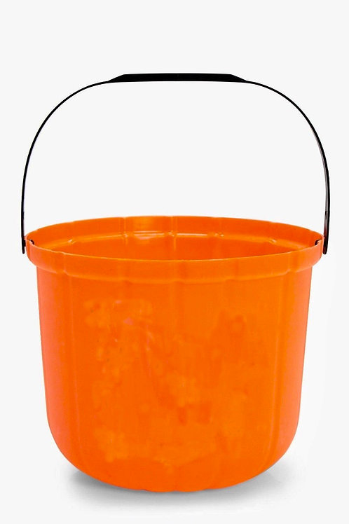 Set of 5 orange buckets