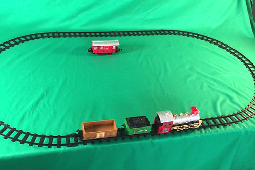 1233 Deluxe Christmas Train Set