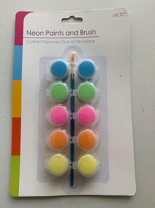 Neon paints