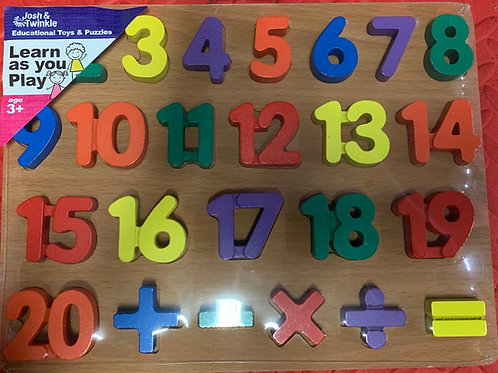 WP1/20  1-20 Number Puzzle