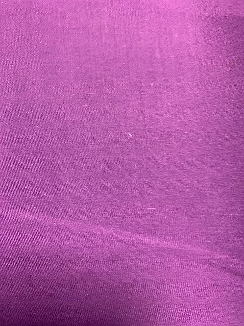 Purple plain polycotton