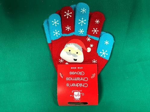 1304 Kids Christmas Gloves